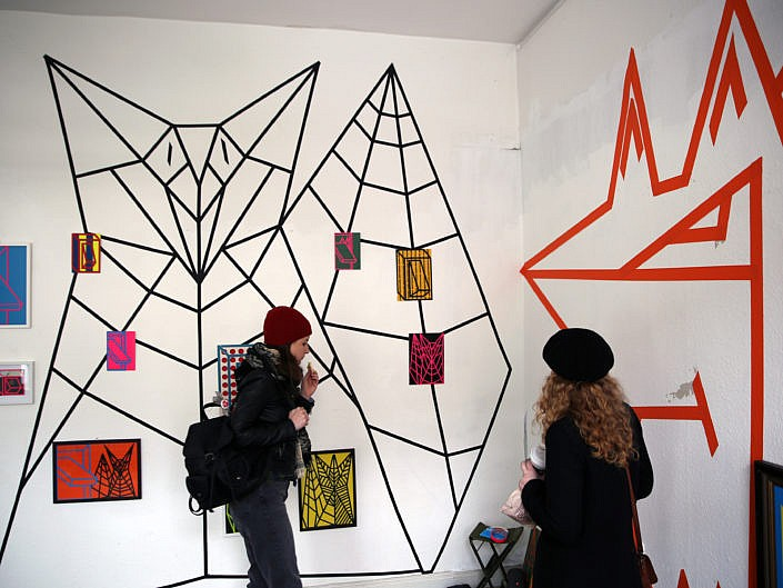 "Group Exhibition Bomb Da Haus/Heiligenhaus: #fuxundschalter ""fuxstudien"""